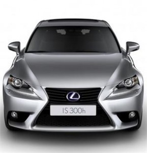 The European Debut of the Lexus IS300h will be at the Geneva Motor Show in March