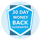 Our GAP insurance policies come with a 30-day money back guarantee.