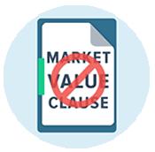 No Market Value Clause