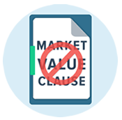 NO Market Value Clauses
